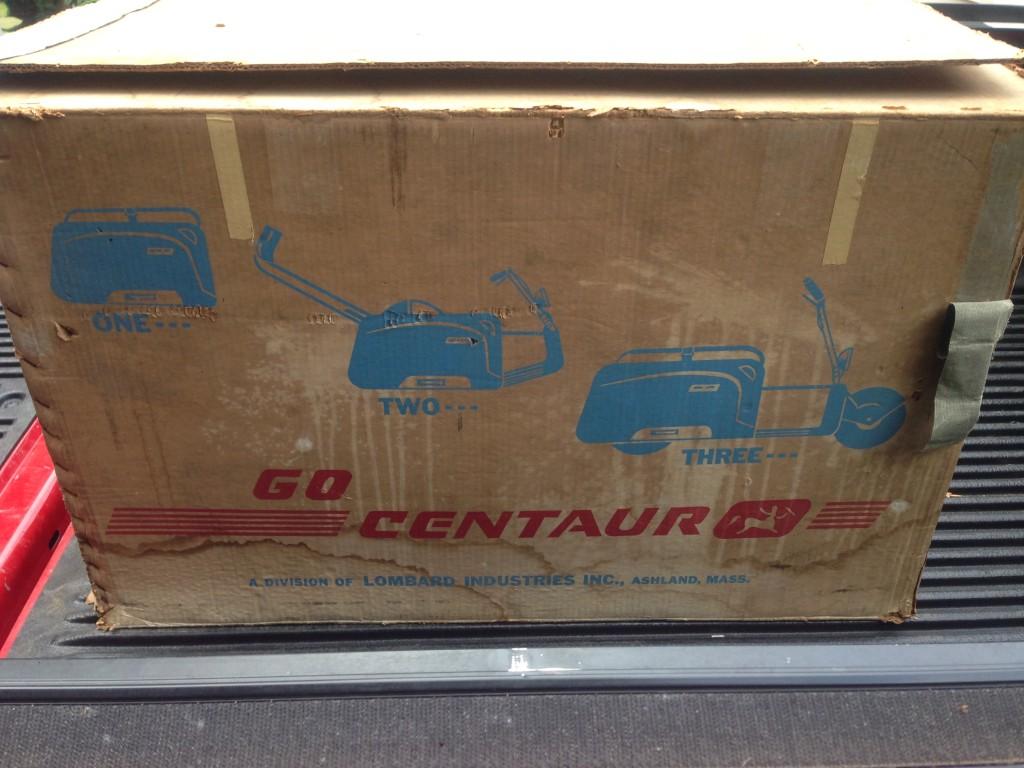 Centaur Scooter Box