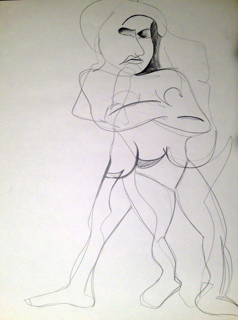 Abstract Nude Female
