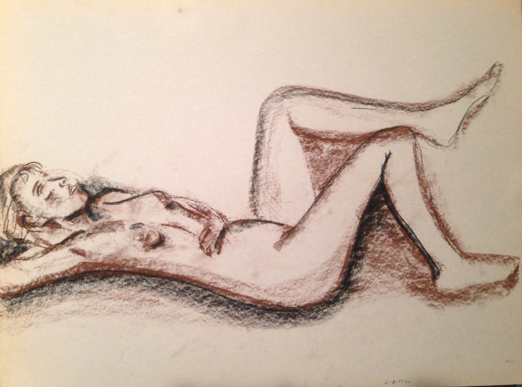 Nude Female Laying