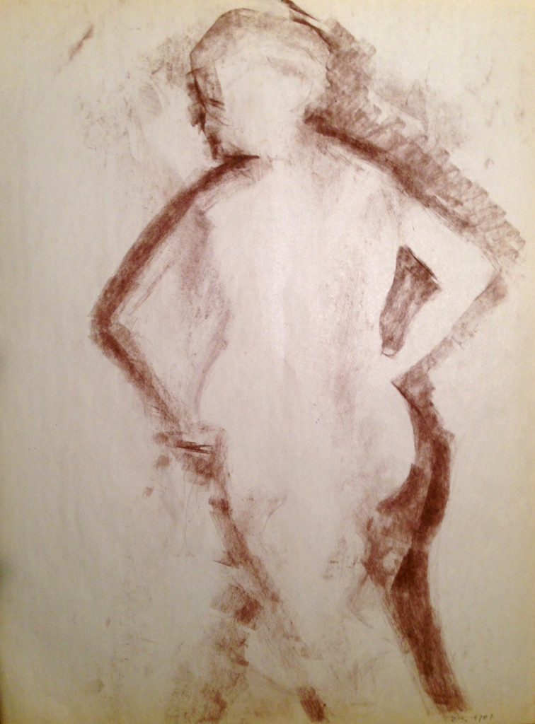 Female Nude Shadow
