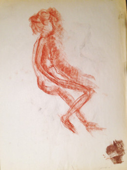 Female Nude Recline