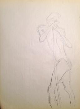 Male Nude Pole