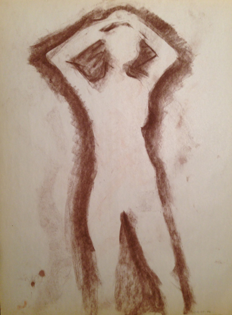 Female Nude Shadow