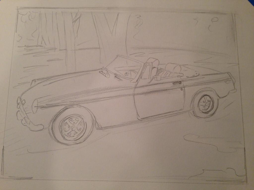 MGB Drawing