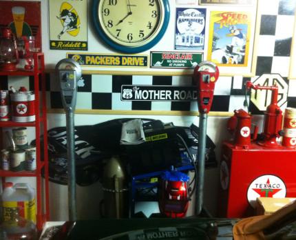 Parking Meter 12 Red