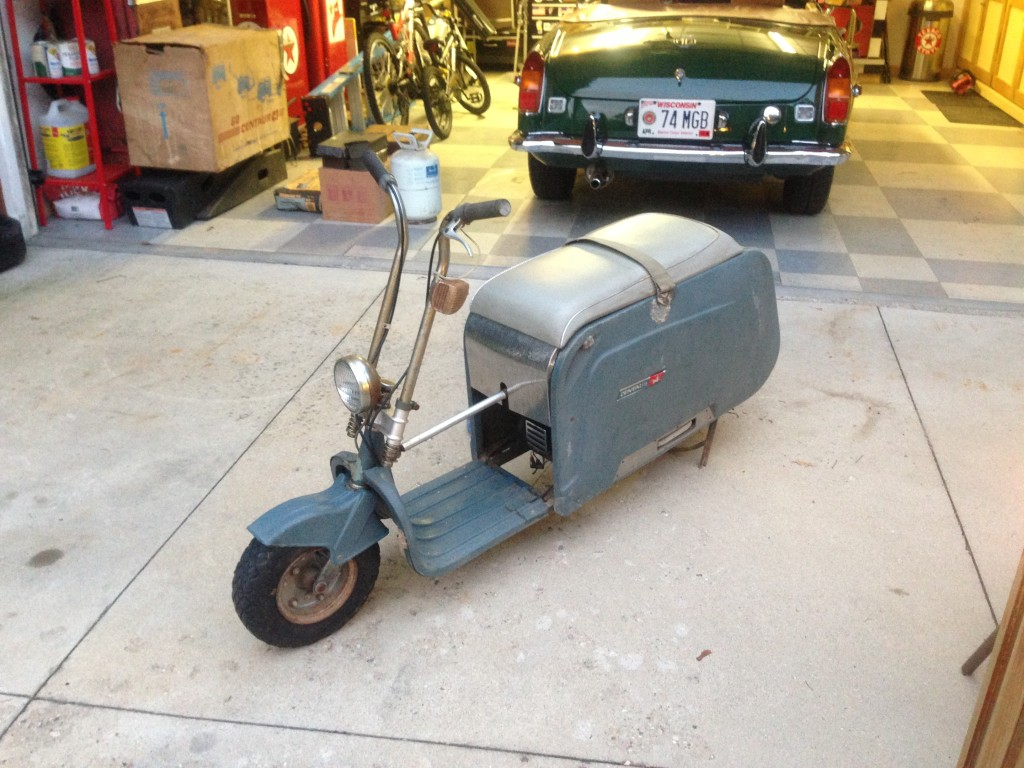 Centaur Folding Scooter 1964
