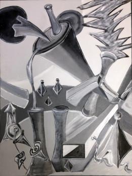 Acyrlic Abstract