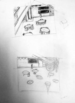 UW Parkside interior study