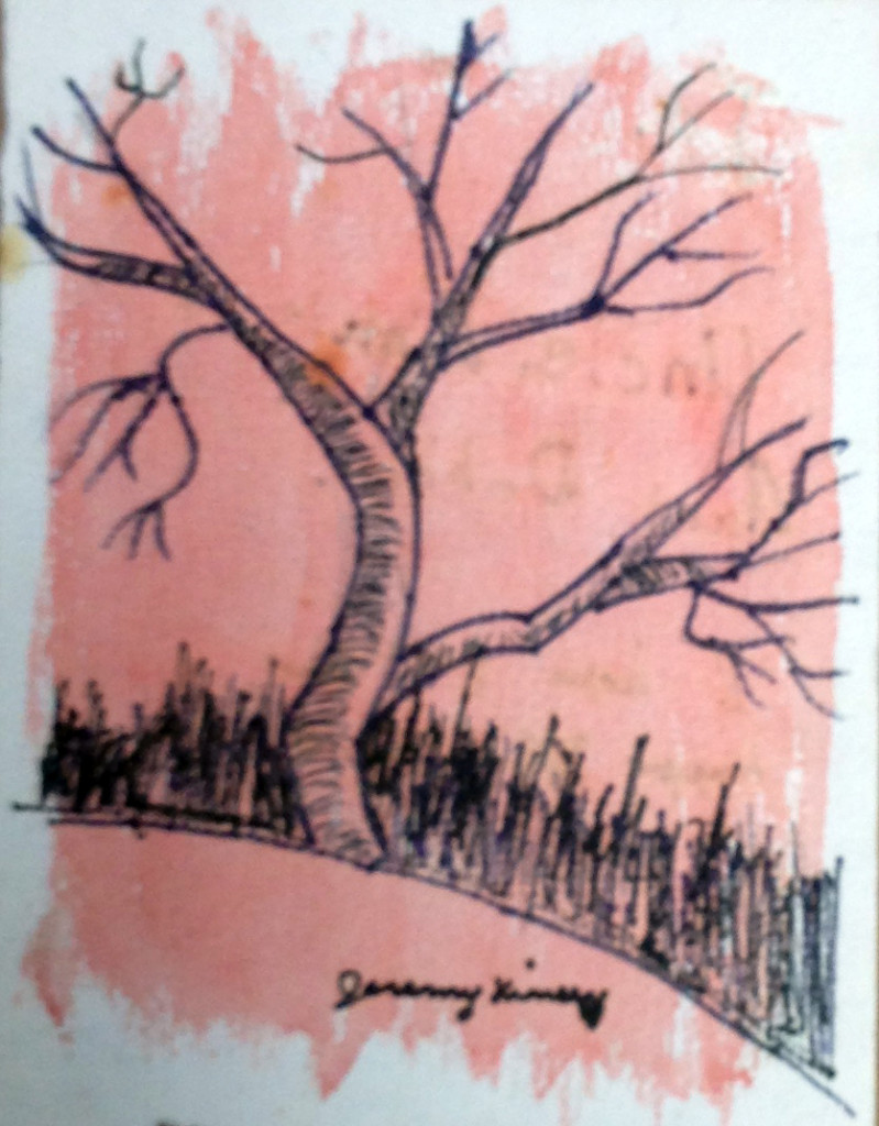 Tree Greeting Card Cover
