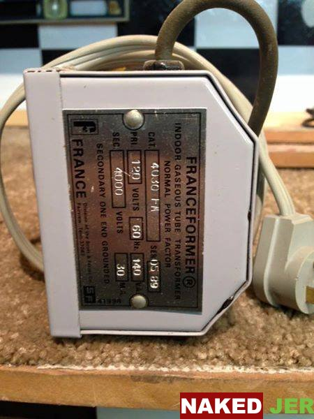 4000 W transformer for a neon light $30