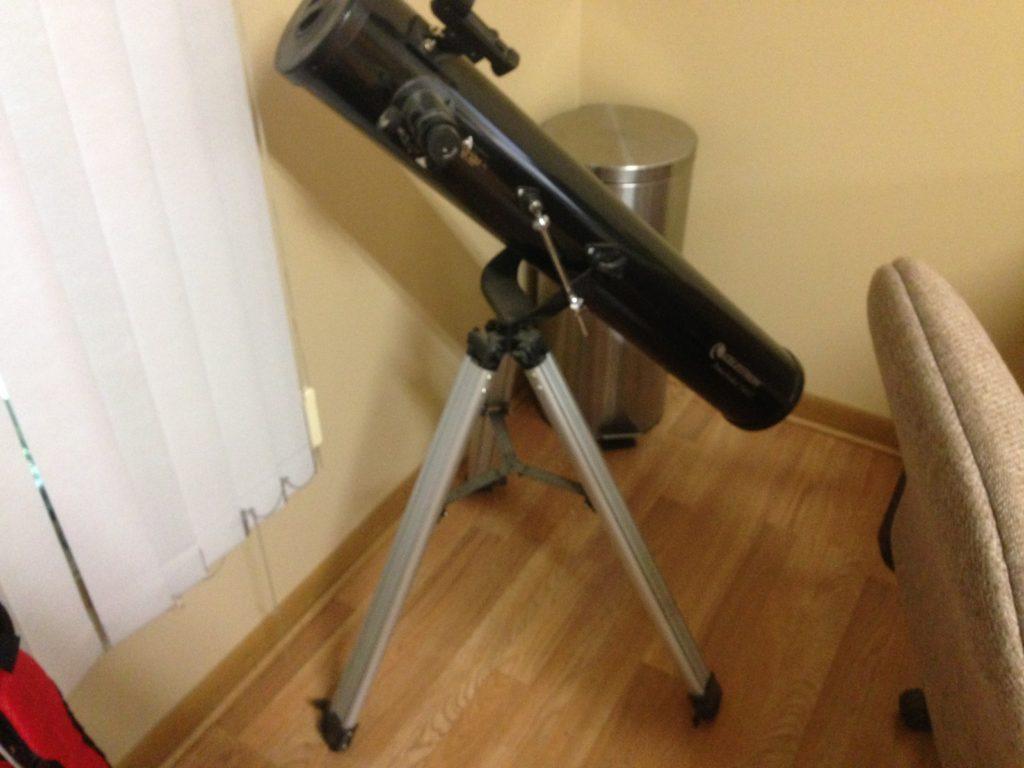 SOLD Celestron Powerseeker 114AZ Telescope $50