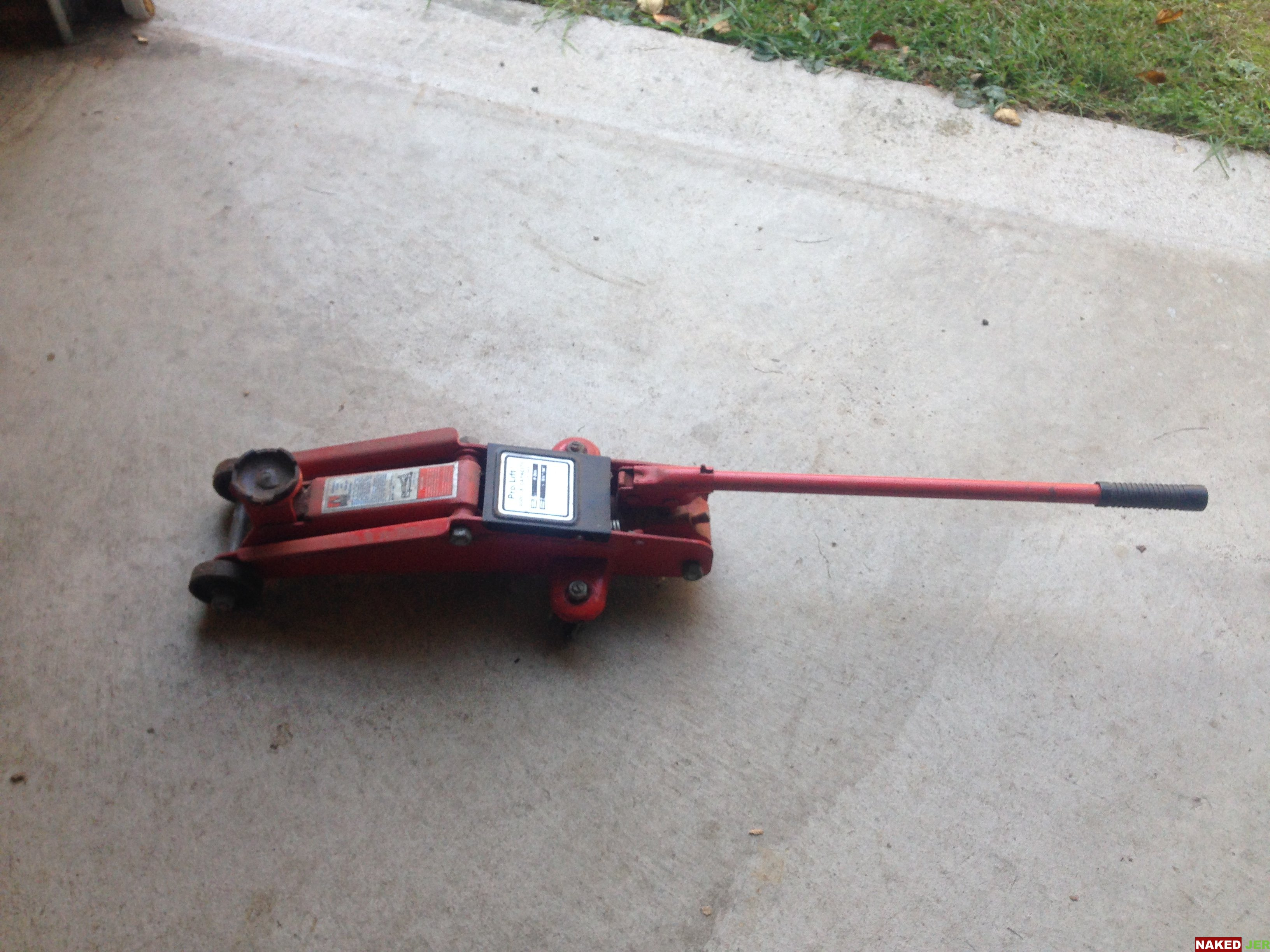 2 Ton Floor Jack (4000lbs) Red $5