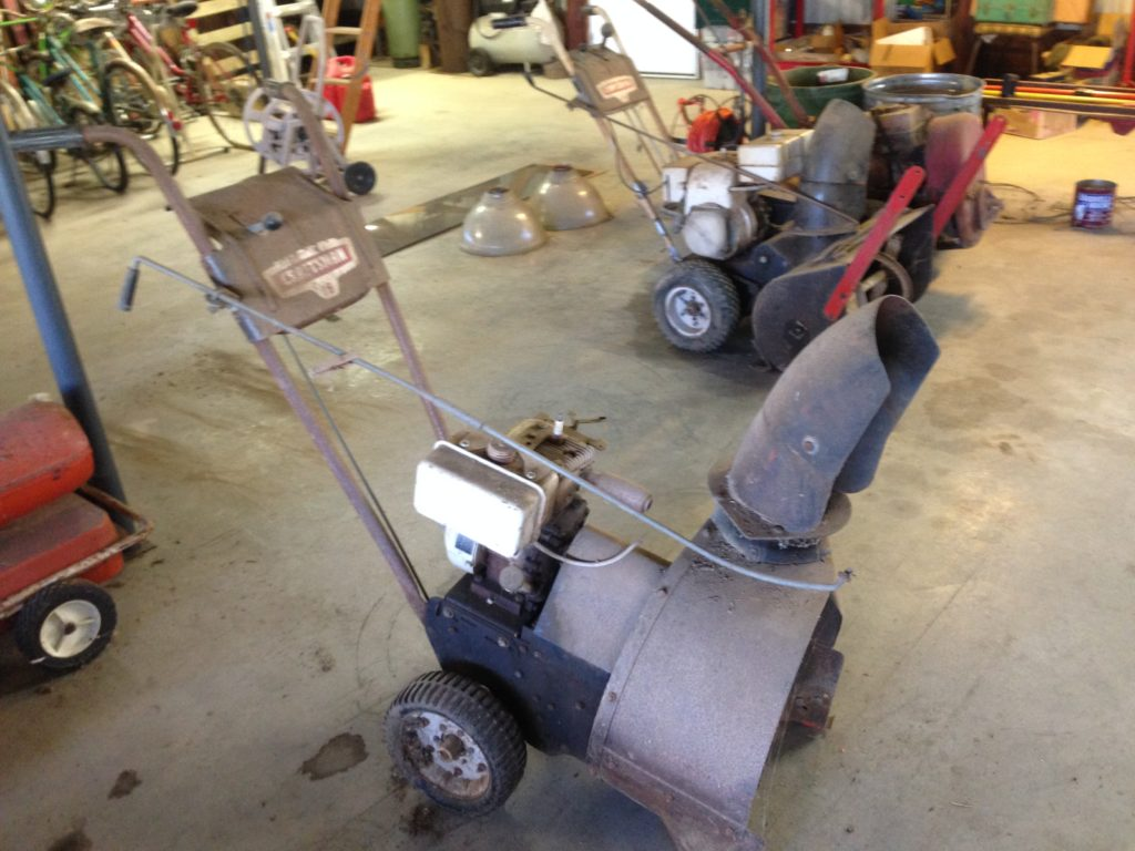 Craftsman model 18 Snow Blower $60