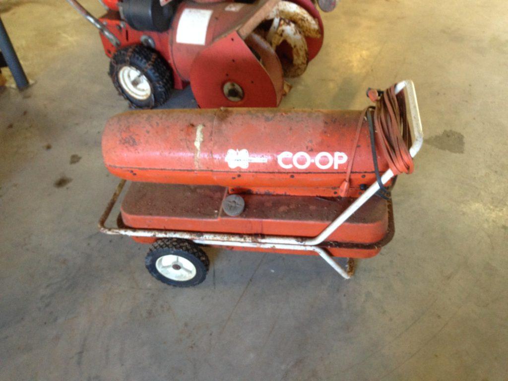 COOP Kerosene Forced Air / Torpedo Heater $75