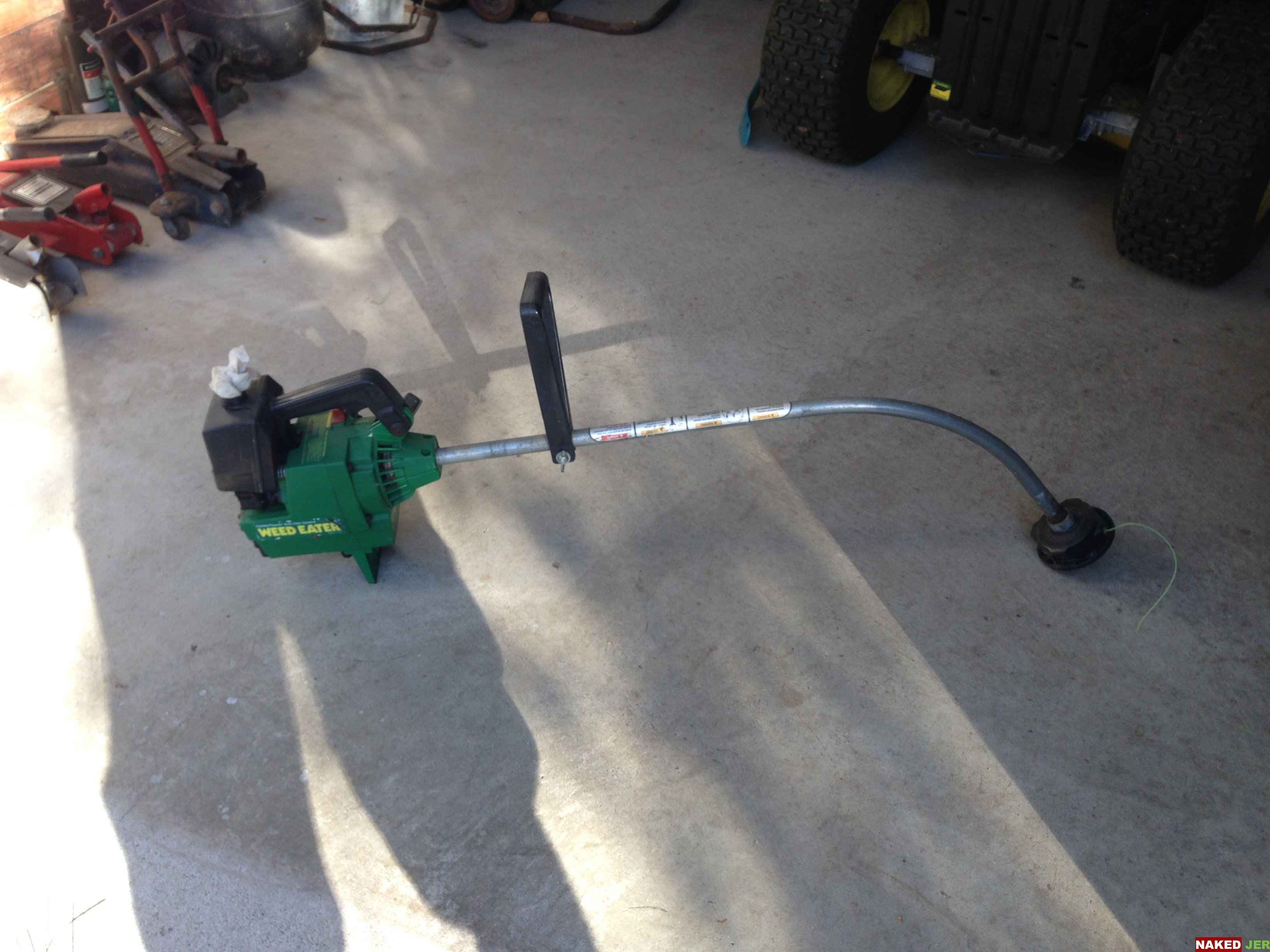 "Weed Eater 15"" Green $10"