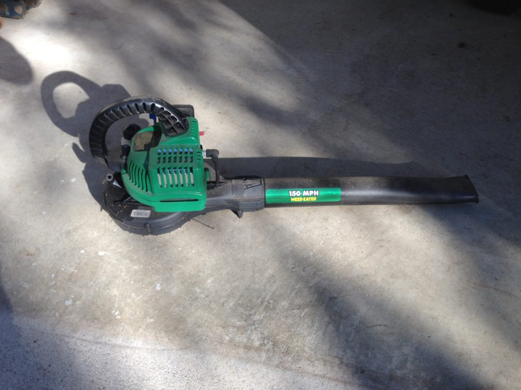 SOLD Weed Eater Leaf Blower $10