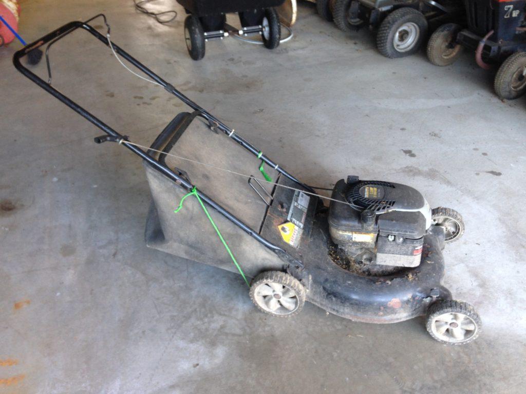 Yard Machine Mower (Engine Runs / deck is bad) $40