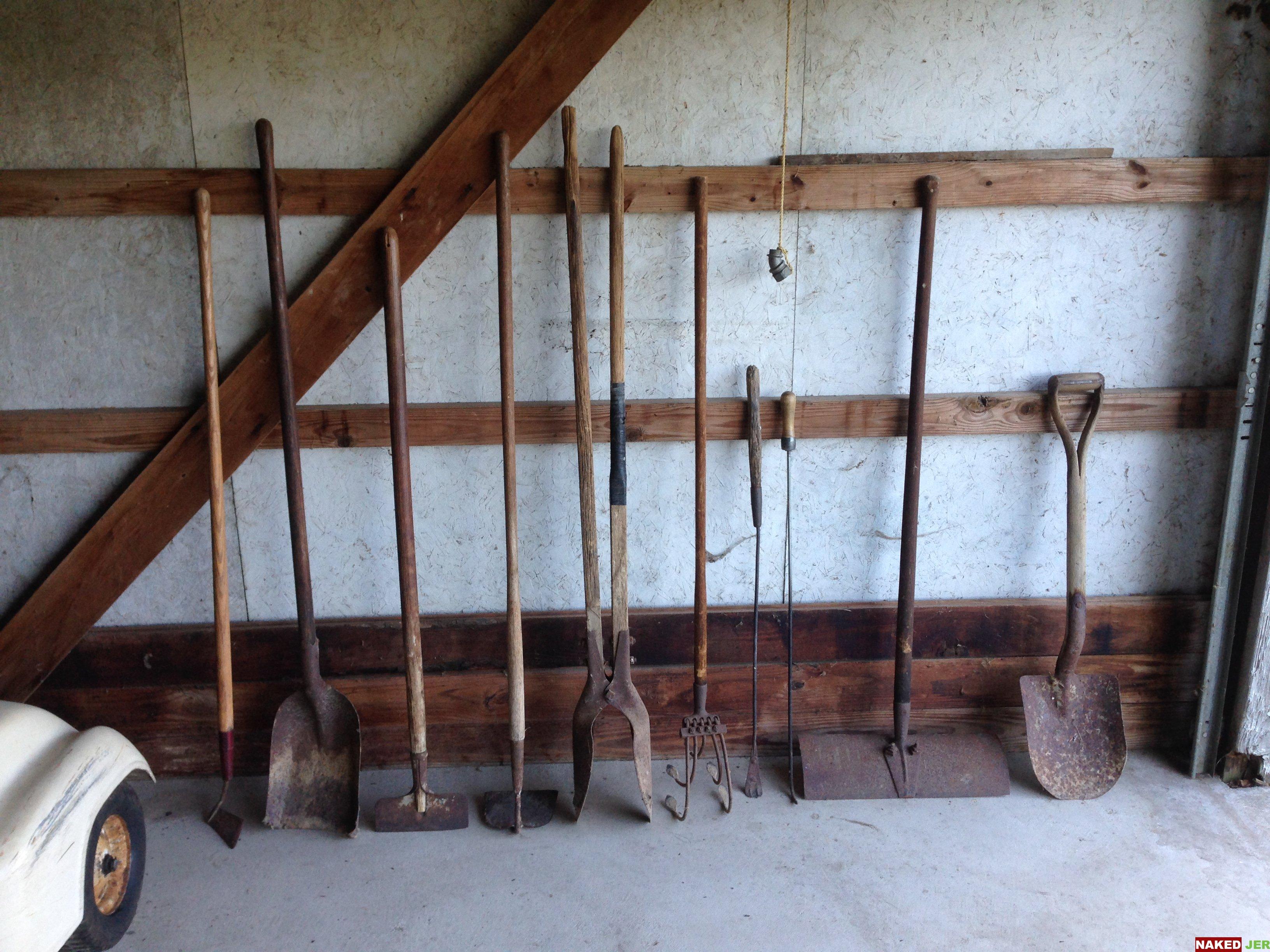 Assorted Vintage Garden Tools $2-$10