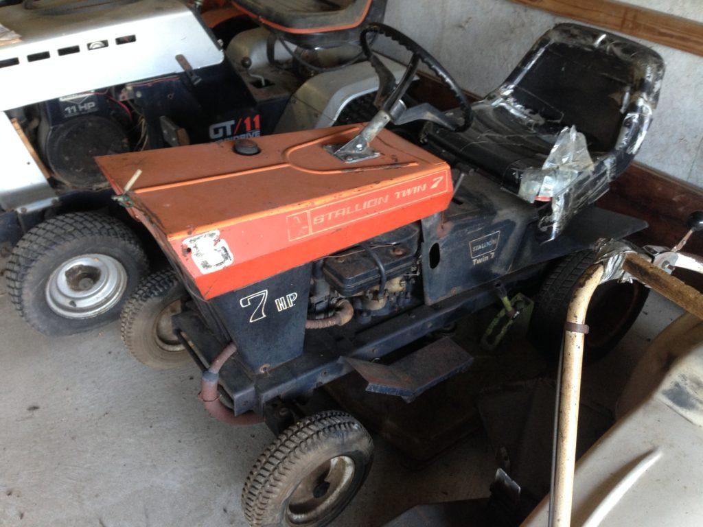 Vintage Poloron Stallion Tractor $200