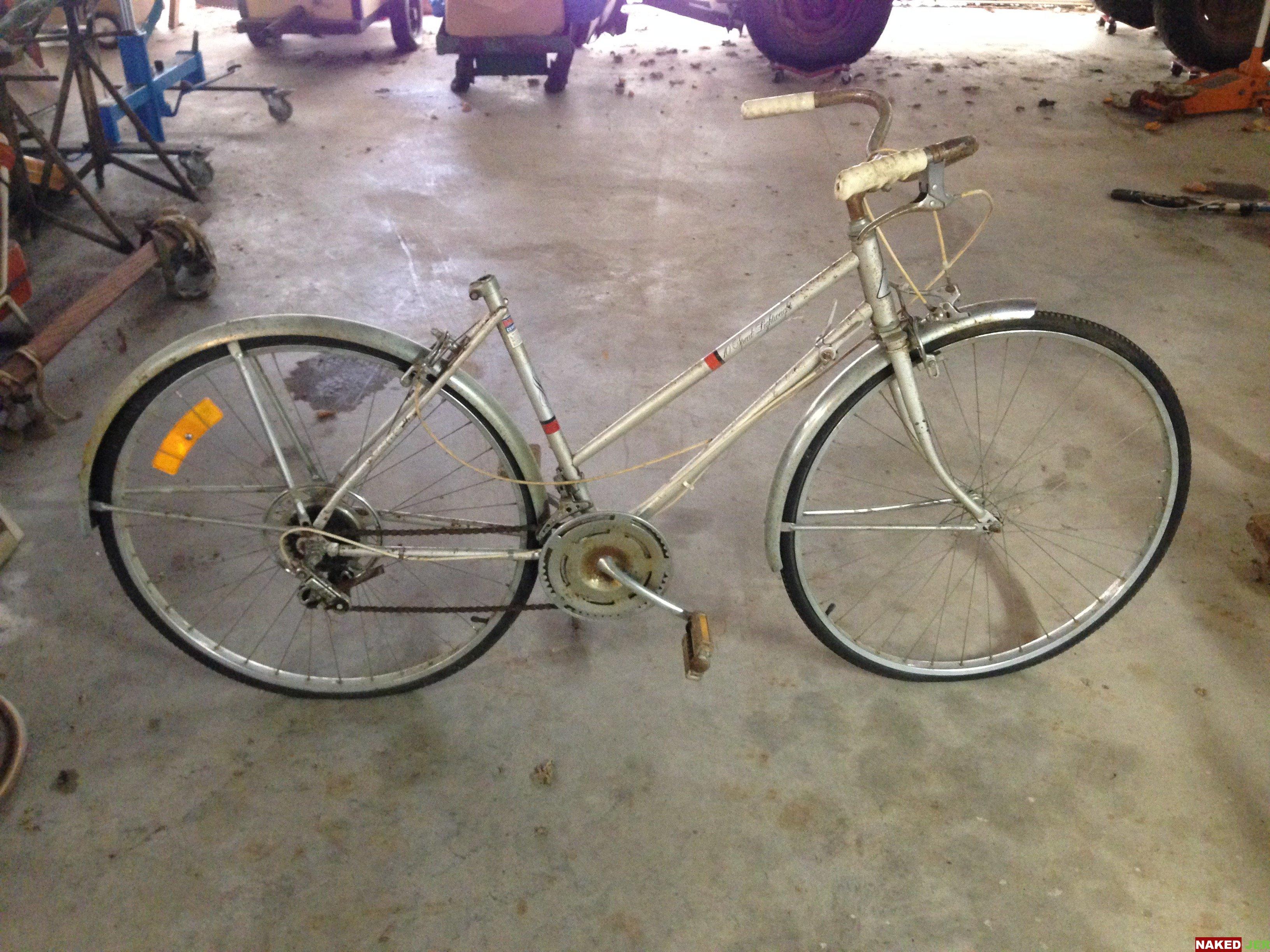 1960's/70's Sears Murray  BMA/6 Lightweight 10 speed girls bike. No seat.  $30