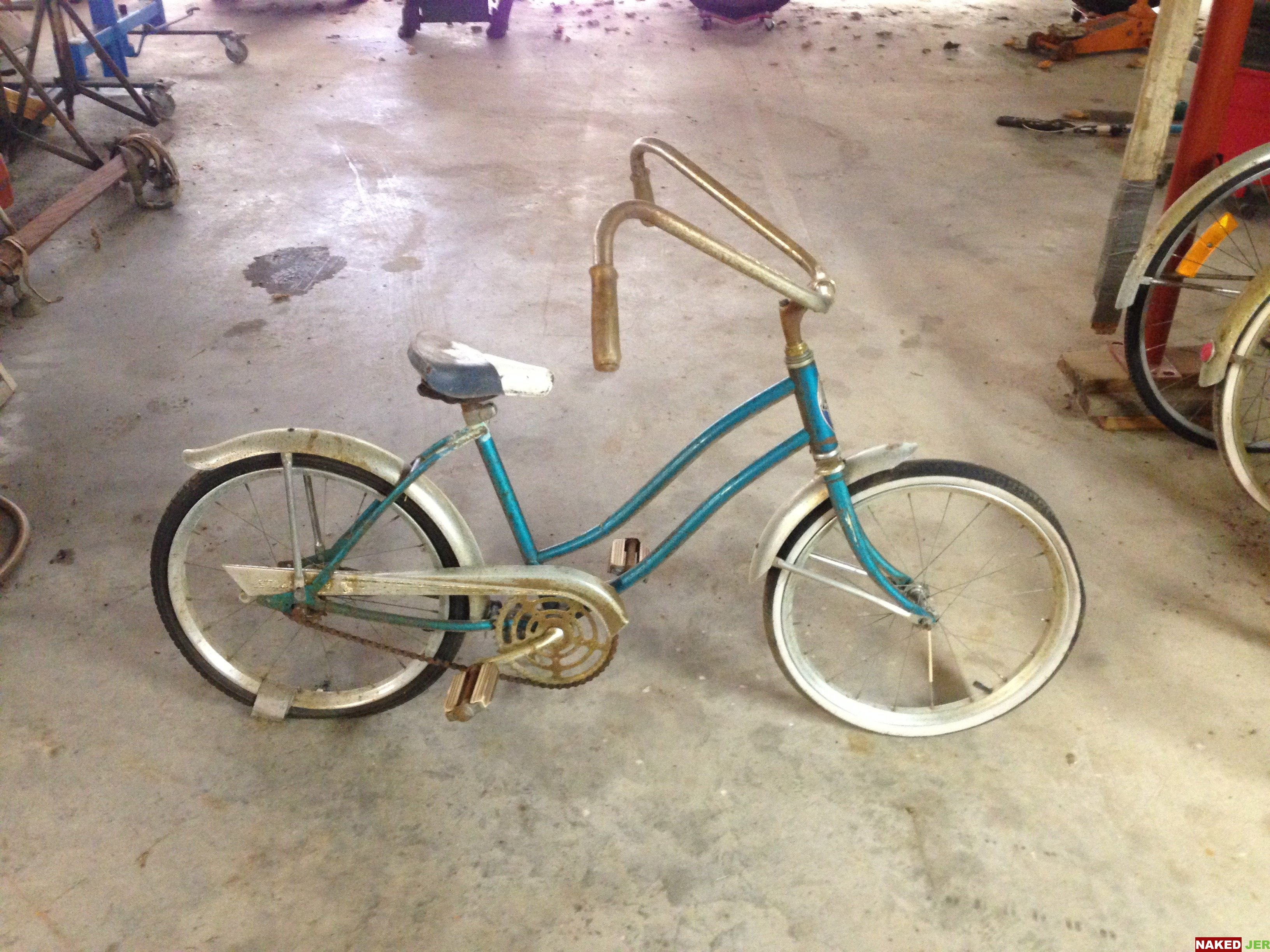 Grils bike ape hangers $30