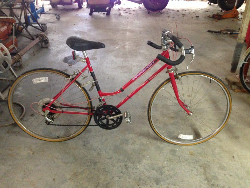 Huffy Durasport 10 speed girls bike red $15