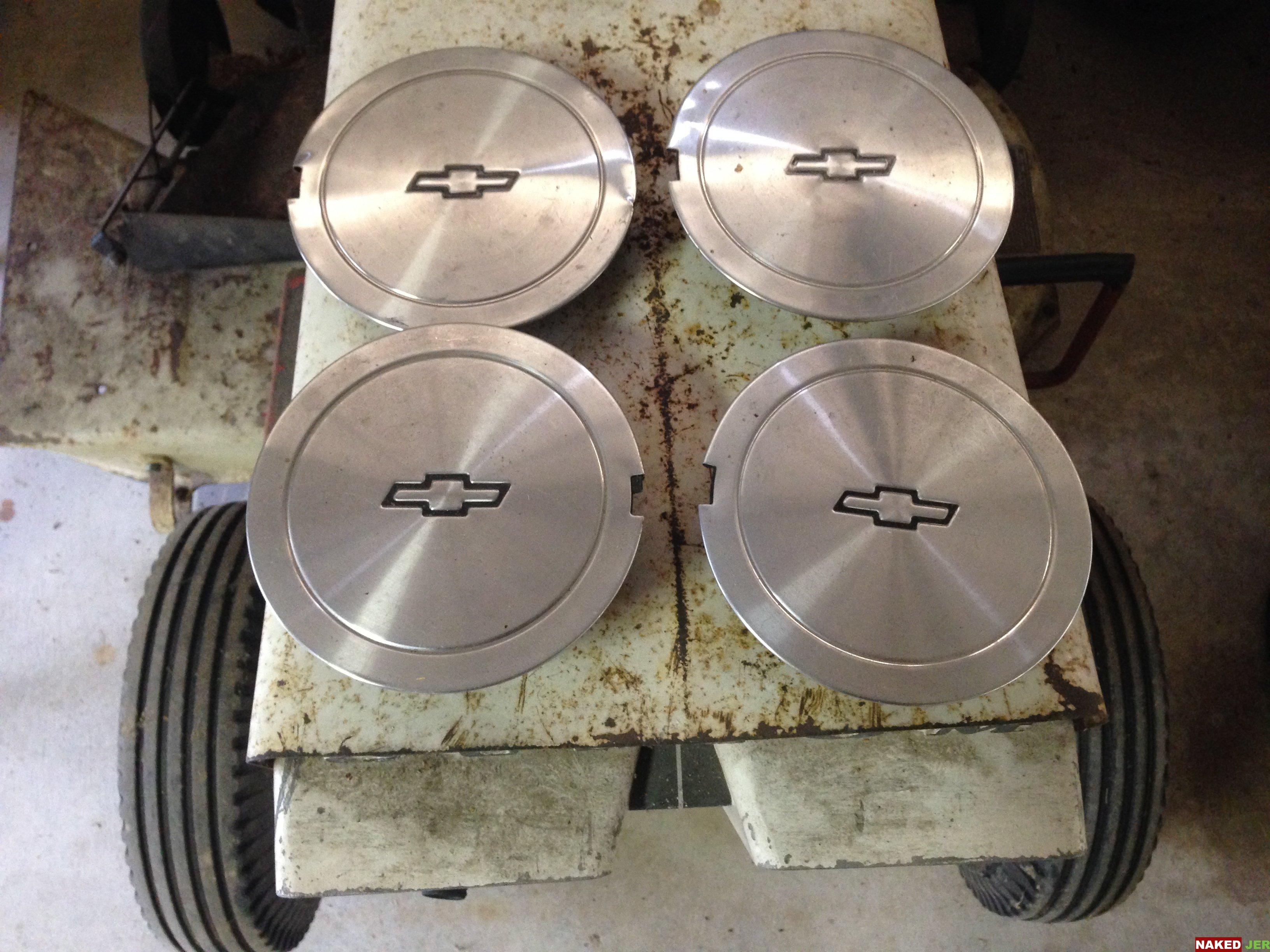 Chevy Alloy Wheel Center Caps (set of 4) $20