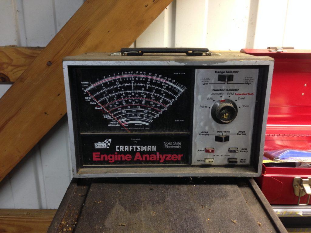 Vintage Craftsment Engine Analyzer - $20