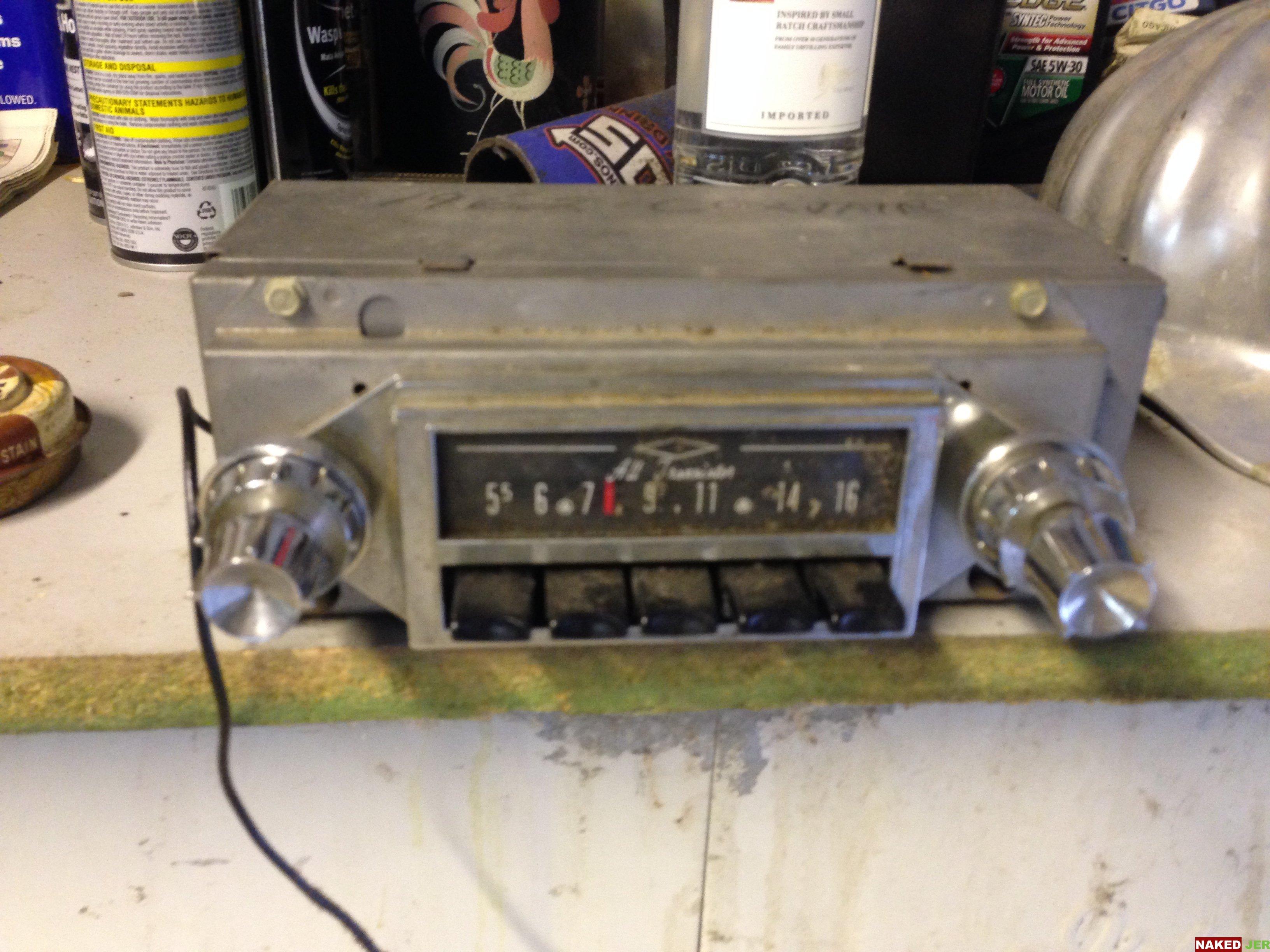 1962 Corvair Radio $20