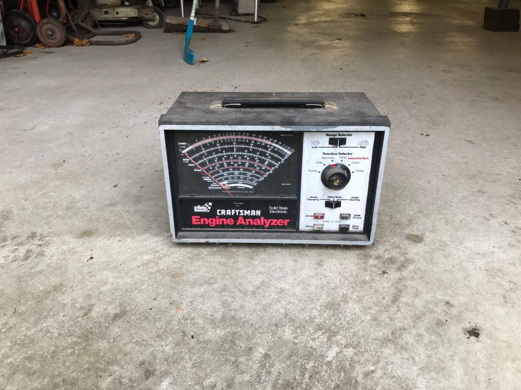 Craftsman Engine analyzer $30