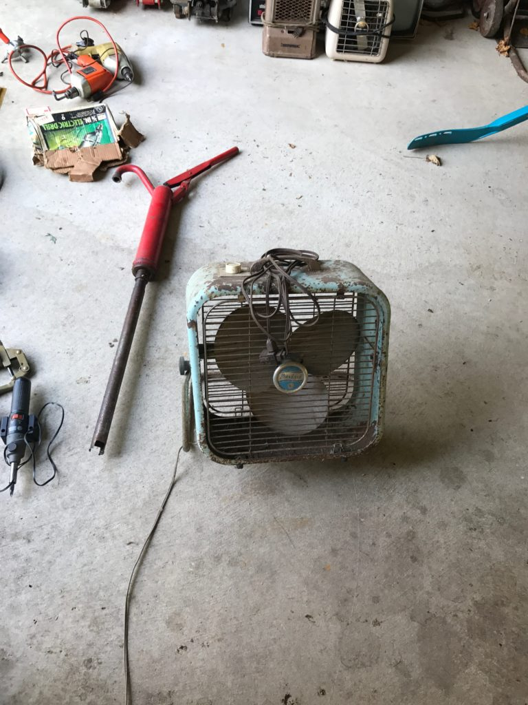 Vintage Fan $10