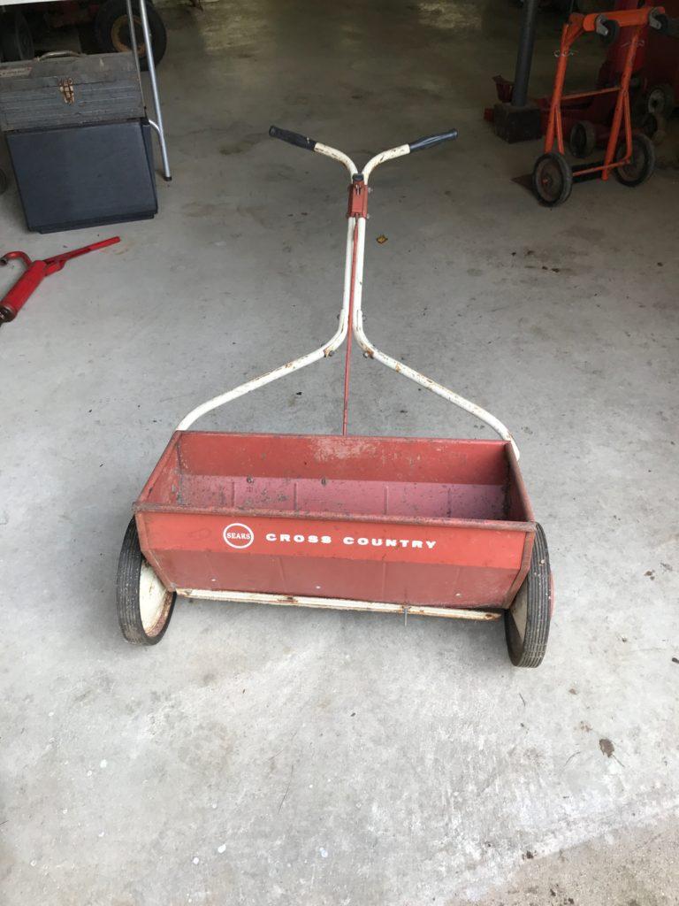 Vintage seed spreader $20