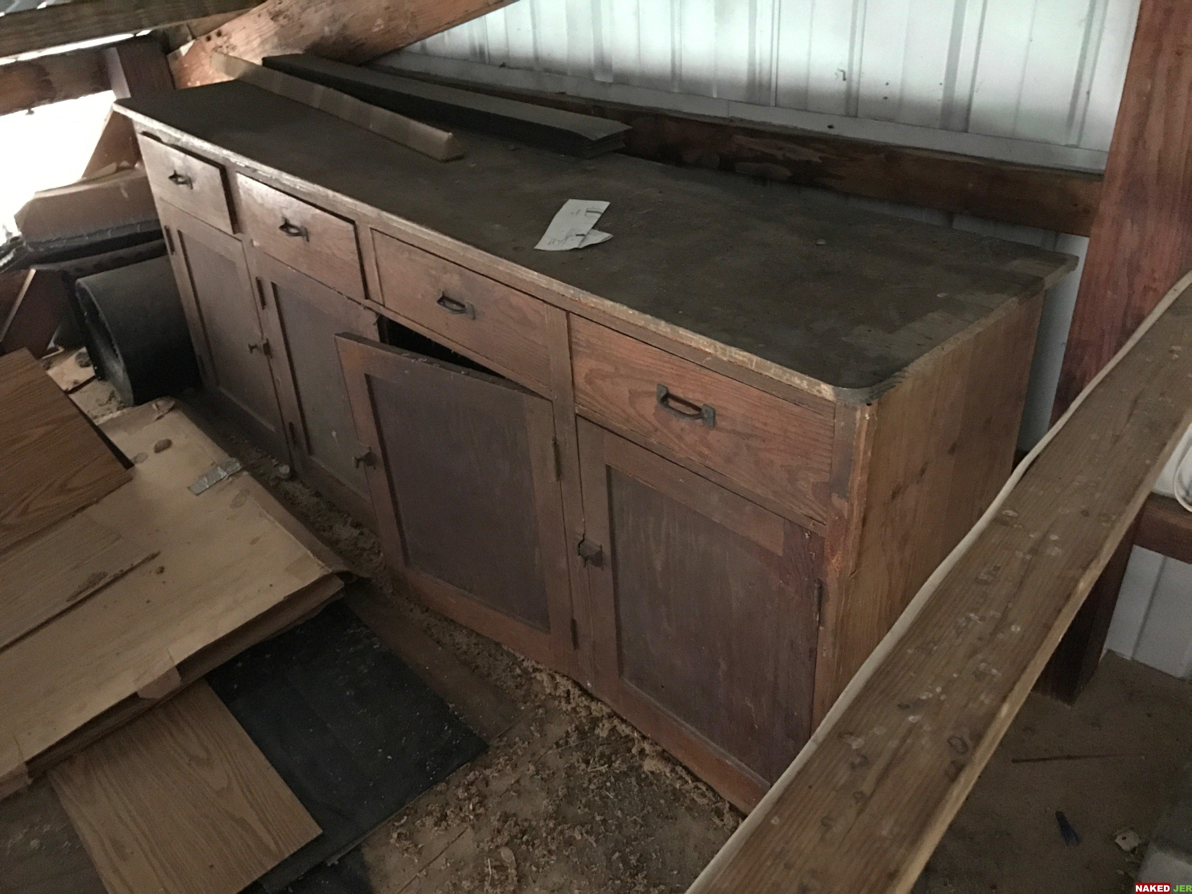 Antique hutch $350