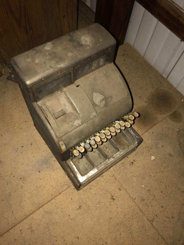 Antique cash register $75 SOLD