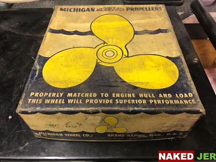Vintage Michigan machine pitch propeller $100