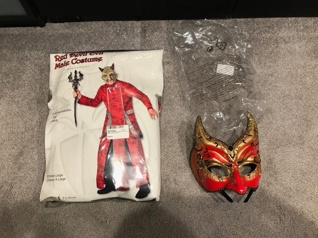 Devil Costume $20
