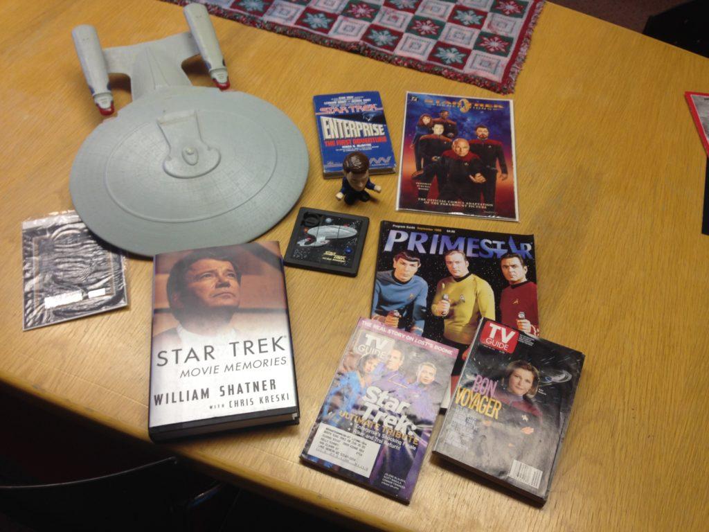 Star Trek lot $40