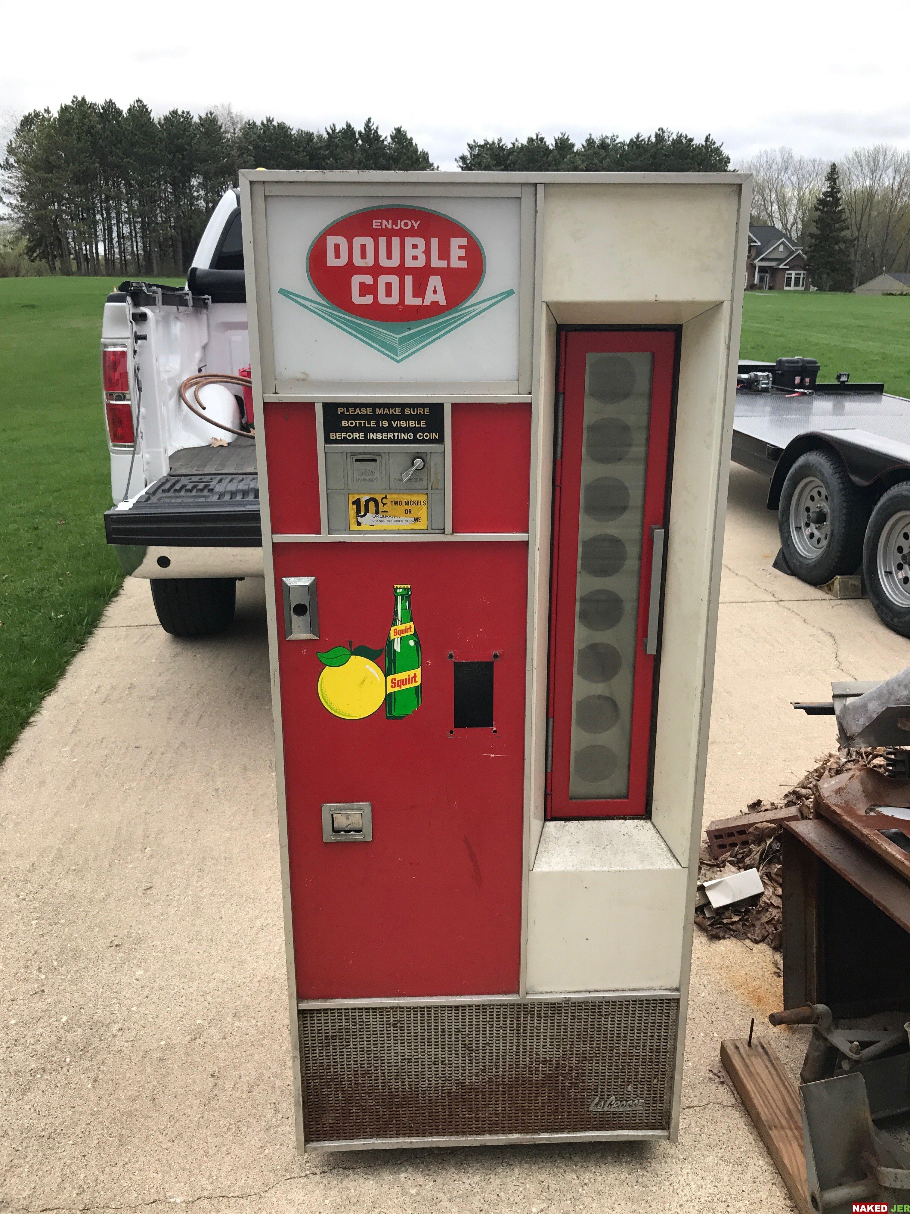 Double Cola soda machine $500