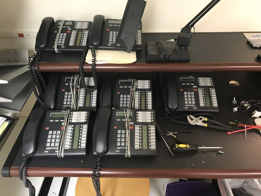 Nortel Networks phone system