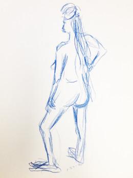 Nude Femal Standing